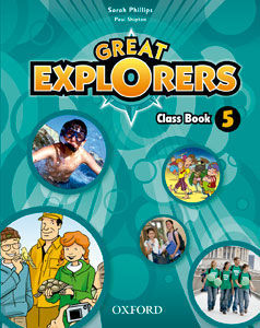GREAT EXPLORERS 5 CLASS BOOK ED. 2015
