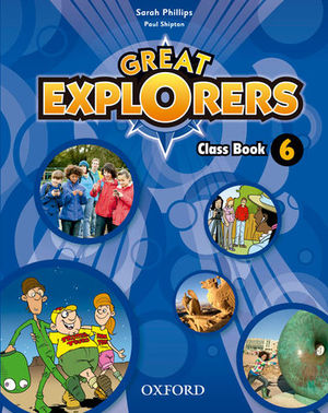 GREAT EXPLORERS 6 CLASS BOOK ED. 2015