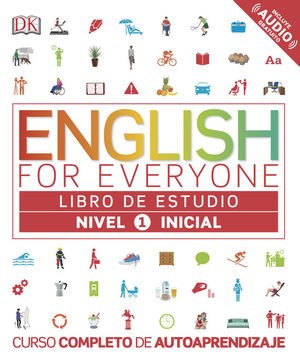 ENGLISH FOR EVERYONE LIBRO DE ESTUDIO NIVEL 1 INICIAL