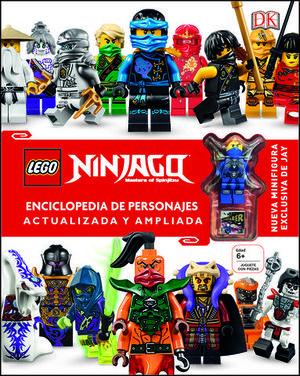 LEGO NINJAGO.  ENCICLOPEDIA PERSONAJES ACTUALIZADA Y AMPLIADA