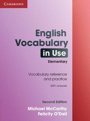 ENGLISH VOCABULARY IN USE ELEMENTARY WITH KEY 2ª ED.