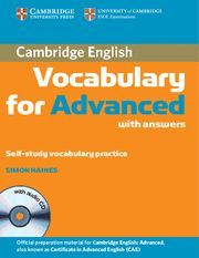 VOCABULARY FOR ADVANCED WITH ANSWERS