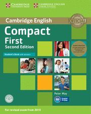 COMPACT FIRST STUDENT´S BOOK 2ª  EDITION AND CLASS AUDIO CD