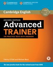 ADVANCED TRAINER SIX PRACTICE TEST WITH ANSWERS 2ª ED. ( 2015 )