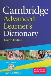 CAMBRIDGE ADVANCED LEARNER´S DICTIONARY 4ª ED.