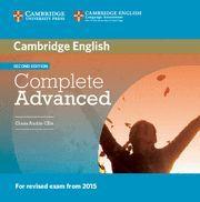 COMPLETE ADVANCED CLASS AUDIO CD 2ª ED.