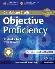 OBJECTIVE PROFICIENCY STUDENT´S BOOK WITH ANSWERS 2ª ED. 2013