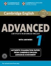 ADVANCED CERTIFICATE IN ADVANCED ENGLISH 1 WITH ANSWERS WITH 2 AUDIO C