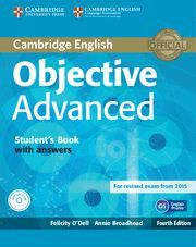 OBJECTIVE ADVANCED STUDENT´S BOOK WITH ANSWERS 4ª ED. ( 2015 )