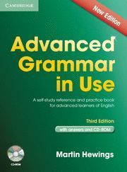 ADVANCED GRAMMAR IN USE WITH ANSWER AND CD-ROM THIRD EDITION