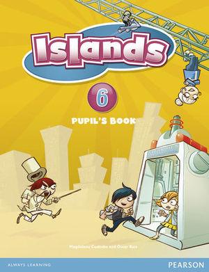 ISLANDS 6 SPAIN PUPILS BOOK