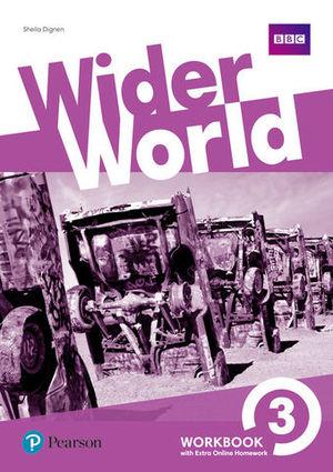 WIDER WORLD 3 WORKBOOK ED. 2017