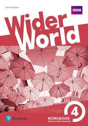 WIDER WORLD 4 WORKBOOK ED. 2017