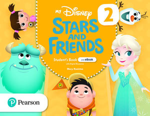 MY DISNEY STARS AND FRIENDS 2 STUDENT'S BOOK AND EBOOK WITH DIGITAL RESOURCES