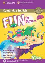 FUN FOR MOVERS 4ª ED. STUDENT´S BOOK