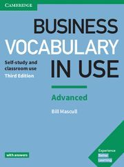 BUSINESS VOCABULARY IN USE ADVANCED 3ª ED. WITH ANSWERS ED. 2018