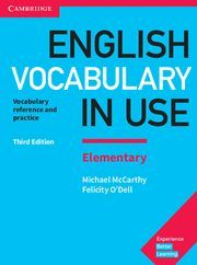 ENGLISH VOCABULARY IN USE ELEMENTARY 3ª ED. 2018