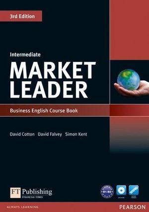 MARKET LEADER INTERMEDIATE COURSE BOOK 3ª ED.