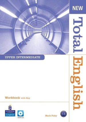 NEW TOTAL ENGLISH UPPER INTERMEDIATE WORKBOOK WITH KEY