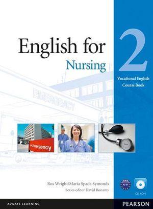 ENGLISH FOR NURSING 2 COURSE BOOK