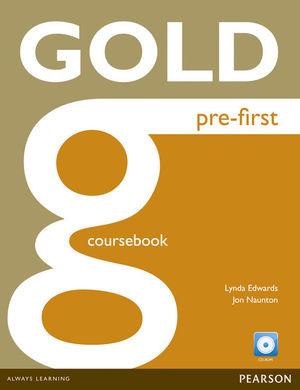 GOLD PRE-FRIST CERTIFICATE COURSEBOOK