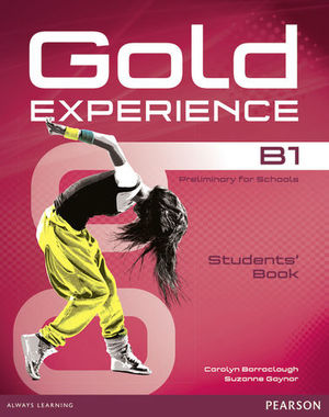 GOLD EXPERIENCE B1  STUDENT´S BOOK