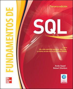 FUNDAMENTOS DE SQL 3ª ED. 2011