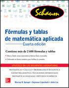 FORMULAS Y TABLAS DE MATEMATICA APLICADA 4ª ED.