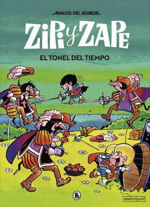 ZIPI Y ZAPE. EL TONEL DEL TIEMPO.  MAGOS DEL HUMOR