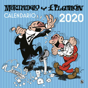 CALENDARIO DE PARED MORTADELO Y FILEMON 2020