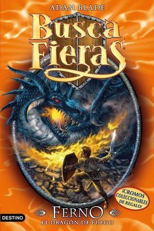 BUSCA FIERAS 1 FERNO EL DRAGON DE FUEGO