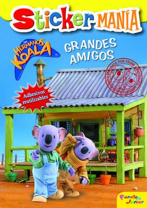 STICKER MANIA LOS HERMANOS KOALA GRANDES AMIGOS