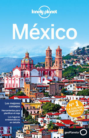 MEXICO LONELY PLANET ED. 2015