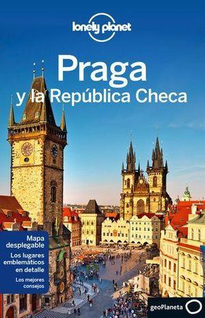 PRAGA Y LA REPUBLICA CHECA LONELY PLANET ED. 2015