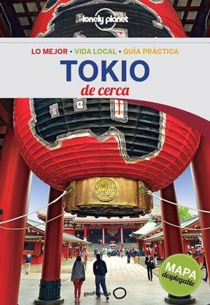 DE CERCA TOKIO LONELY PLANET ED. 2016