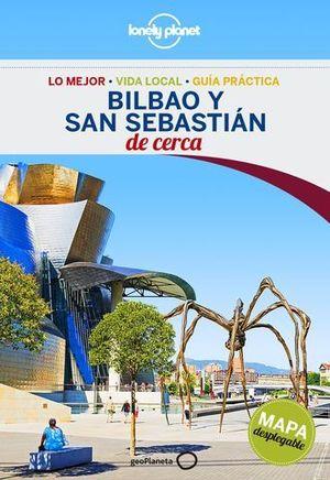 DE CERCA BILBAO Y SAN SEBASTIAN ED. 2016