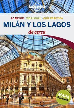 DE CERCA MILAN Y LOS LAGOS LONELY PLANET ED. 2016