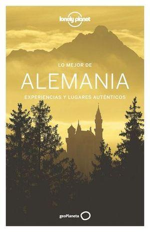 LO MEJOR DE ALEMANIA LONELY PLANET ED. 2016