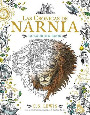 LAS CRONICAS DE NARNIA COLOURING BOOK