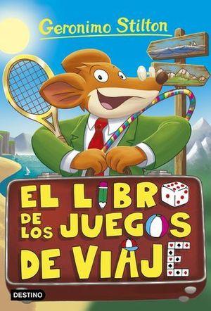 GERONIMO STILTON 34 EL LIBRO DE LOS JUEGOS DE VIAJE
