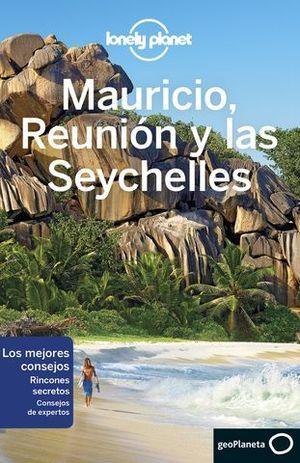 MAURICIO , REUNION Y SEYCHELLES LONELY PLANET  ED. 2017