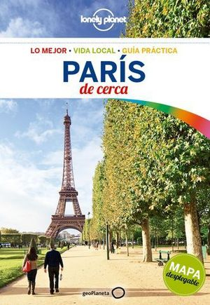 DE  CERCA PARIS LONELY PLANET ED. 2017