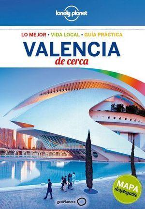 DE CERCA VALENCIA LONELY PLANET ED. 2017