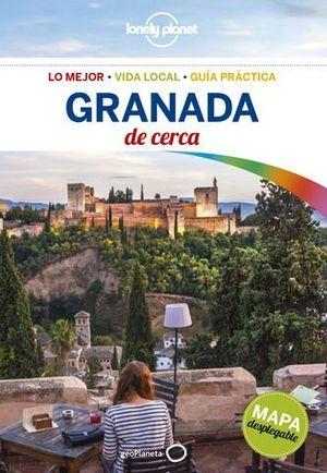 DE CERCA GRANADA  LONELY PLANET ED. 2017