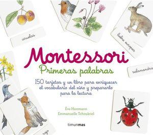 MONTESSORI. KIT PRIMERAS PALABRAS