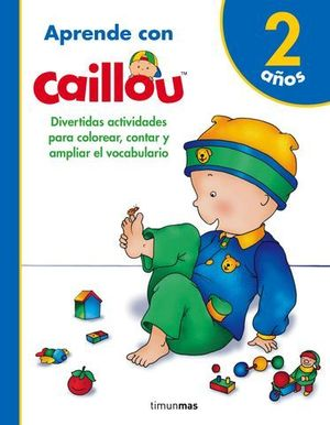 APRENDO CON CAILLOU +2
