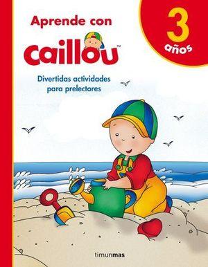 APRENDO CON CAILLOU +3