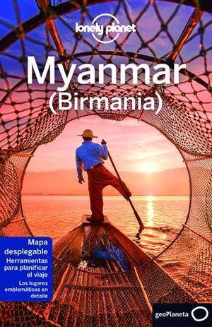 MYANMAR 4 ( BIRMANIA ) LONELY PLANET  ED. 2017