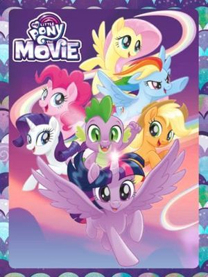 MY LITTLE PONY. THE MOVIE. CAJA METALICA