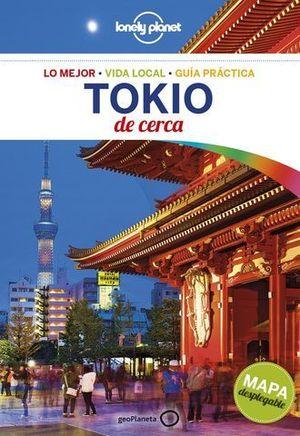 TOKIO DE CERCA LONELY PLANET ED. 2017